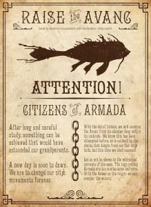 Propaganda poster by Steve Thomas