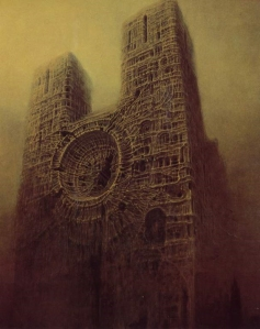 Artwork by Zdzislaw Beksinski