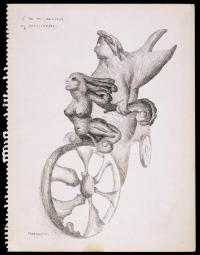 I am an Amateur of Velocipedes 1941 by Leonora Carrington 1917-2011